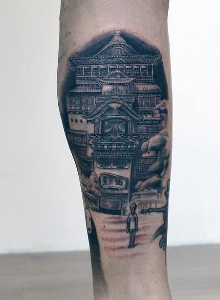 tattoos/ - studio ghibli spirited away tattoo - 127743