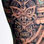 Freehand totem pole tattoo Tattoo Design Thumbnail
