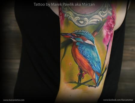 tattoos/ - Kingfisher bird - 119358