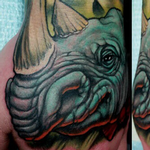 Rhino Tattoo Tattoo Design Thumbnail