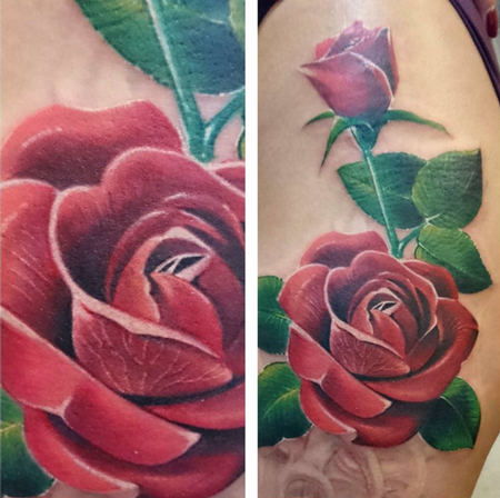 tattoos/ - Rose Cover-up (in progress) - 114742
