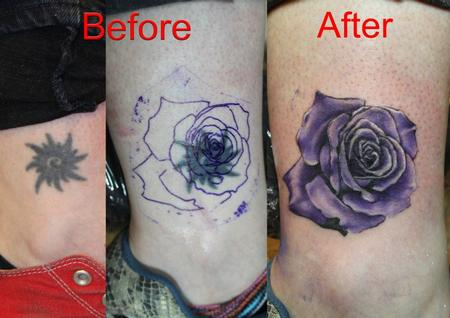 tattoos/ - Color Rose Tattoo - 61641