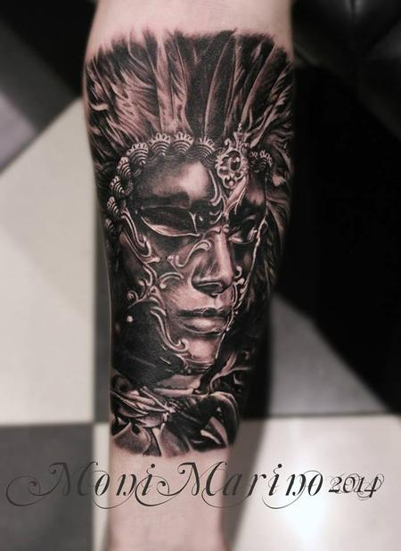 tattoos/ - Venetian Mask Tattoo - 113708
