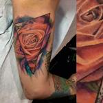 tattoos/ - watercolor rose - 129951