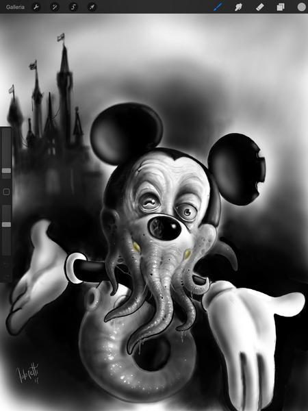 Art Galleries - Octo  Mouse - 131265
