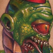 Color Creature Tattoo Original Art Thumbnail