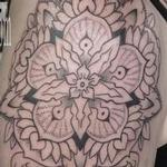 5 point floral mandala Tattoo Design Thumbnail