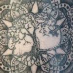 tree of life mandala Tattoo Design Thumbnail