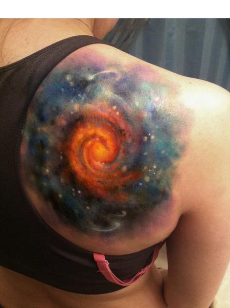 Star - Space tattoo