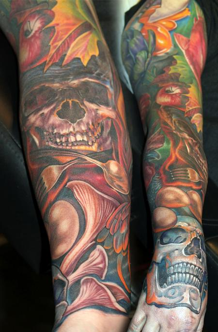 tattoos/ - A Chef's sleeve - 120639