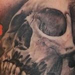 Inner arm skull Tattoo Design Thumbnail