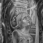 Religious Collage ,,black AND GREY,commemorative tattoo,family tattoo Tattoo Design Thumbnail