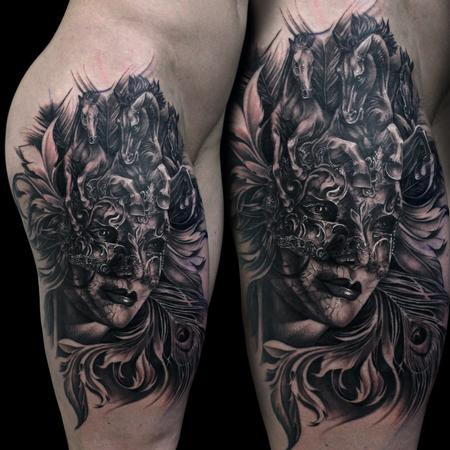 tattoos/ - venetian mask - 119073
