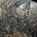 Guardian of heaven Tattoo Design Thumbnail