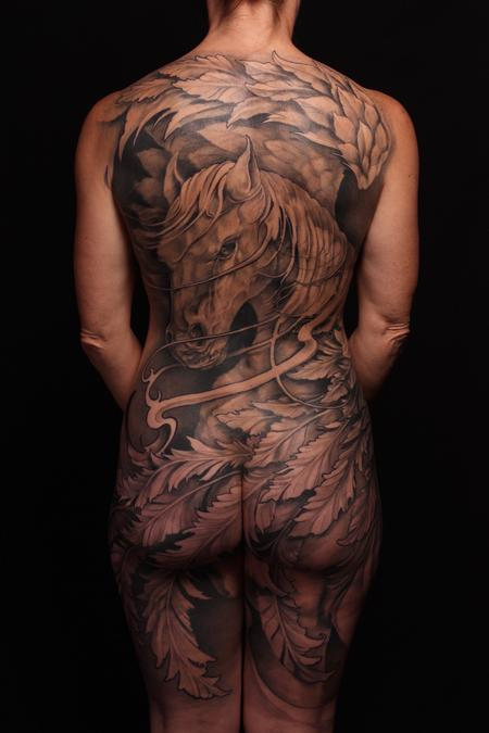 tattoos/ - Freehand Pegasus - 119512