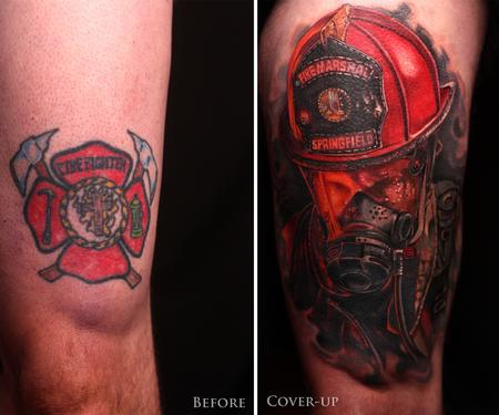 Fire-fighters - Firefighter Coverup
