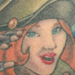 Military/ Patriotic Pin Up Girl Original Art Thumbnail
