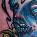 Tattoo of the Day Girl in a Coffin Original Art Thumbnail