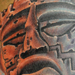 Mayan Ruins Mayan God Tattoo Original Art Thumbnail