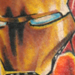 Iron Man Portrait Tattoo Design Thumbnail