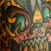Viking Skull Tattoo Design Thumbnail