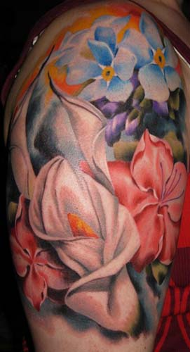 tattoos/ - Flowers - 28381