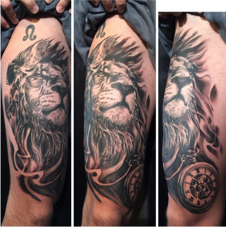 tattoos/ - Lion - 101715