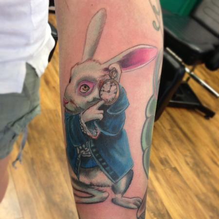 tattoos/ - White rabbit - 71306