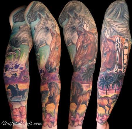 Nature Animal Horse - Horse Sleeve