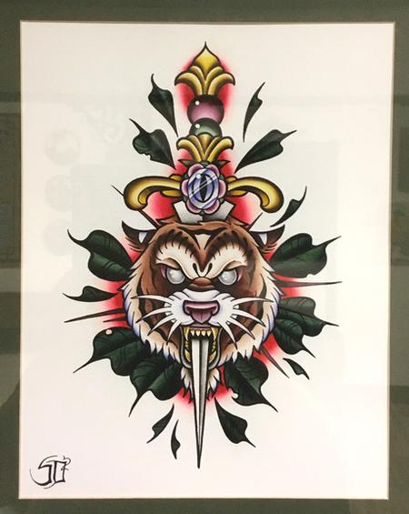 Art Galleries - Stabby Tiger - 129461