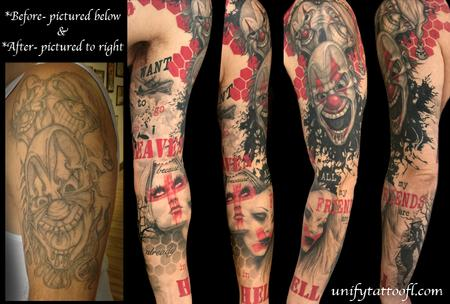 tattoos/ - Trash Polka Heaven/Hell - 120576