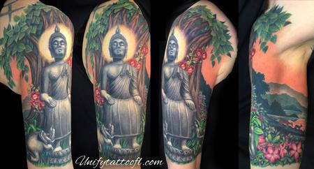 tattoos/ - Wednesday Morning Buddha - 120578
