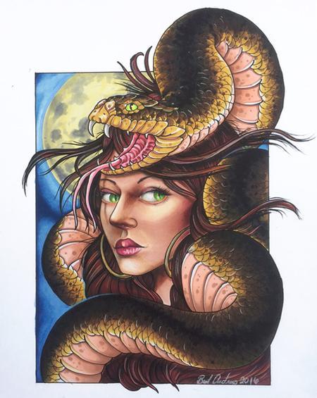 Art Galleries - Snake Charmer - 117028