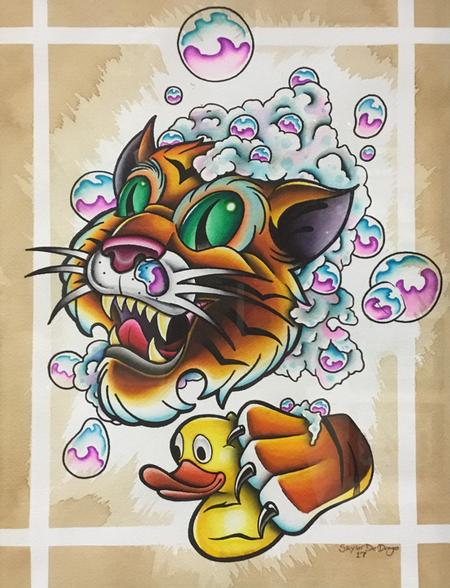 Art Galleries - Soapy Tiger - 129460