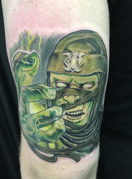 Movie Horror Vampire - Mortal kombat tattoo