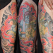 Japanese Dragon Leg Sleeve Tattoo Tattoo Design Thumbnail