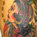 tattoo galleries/ - Gypsy girl and Owl