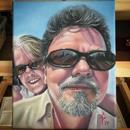Art Galleries - Family painting - 131574