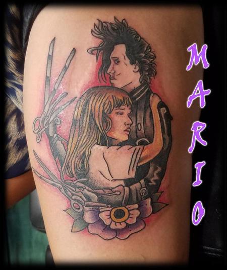 tattoos/ - Edward_Scissorhands_Mario - 133471