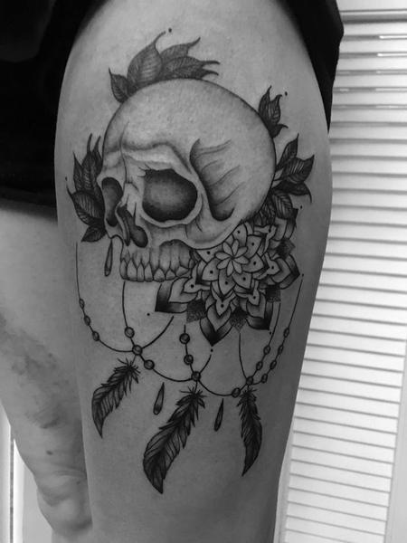 tattoos/ - Mandala Skull  - 138280