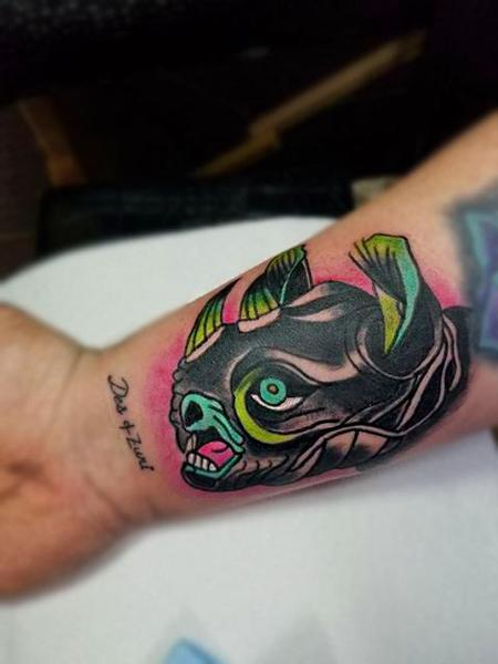 tattoos/ - Traditional Rhino Head - 134511