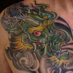 Dragao Tattoo Design Thumbnail