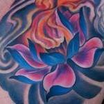 Fireflower Tattoo Design Thumbnail