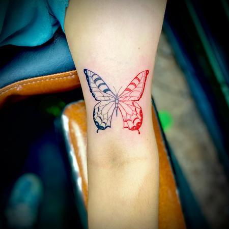 Ying Yang - butterfly