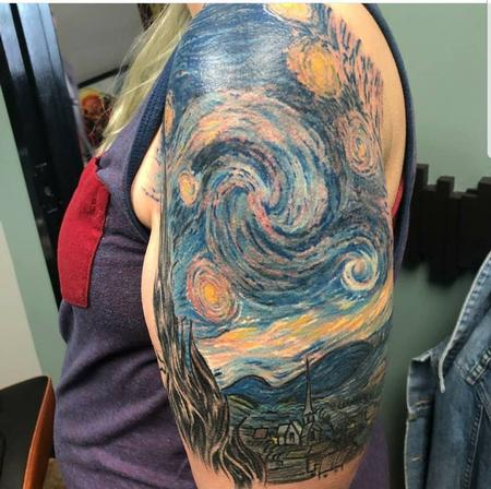tattoos/ - Starry Night - 135095