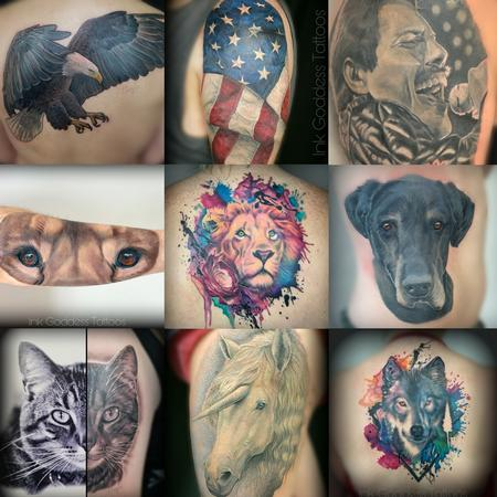 Ethnic Native American - Collection of tattoos by Haylo