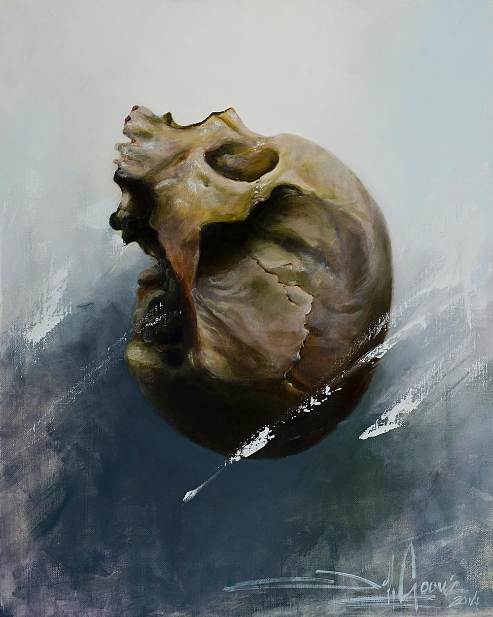 Art Galleries - floating skull - 114513