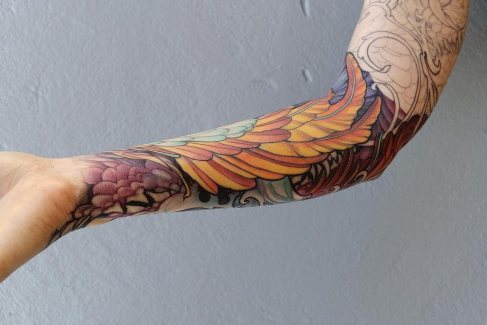 tattoos/ - feathers and fangs - 115554