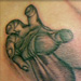 tattoo galleries/ - Mikes Jesus Piece
