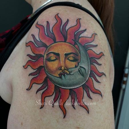 Star - Traditional Sun and Moon